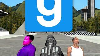 ЗВЁЗДНЫЙ ВОИН ПРОТИВ РОБОТА - Смешные Моменты (Garry's Mod - Sandbox)