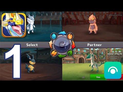 Neo Monsters - Gameplay Walkthrough Part 1 - Tutorial, Rookie League Tryouts (iOS)
