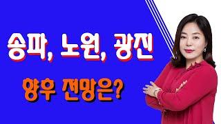 [SBS Biz 부동산해결사들 신화선대표] 송파, 노원, 광진 향후 전망은?
