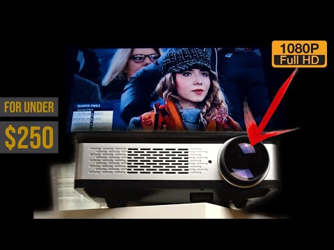 The $250 Projector Thats Native 1080p - Is It Real or Fake?