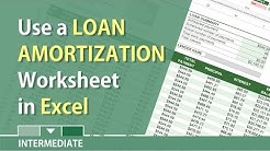 Excel: Loan Amortization for car or house loan by Chris Menard