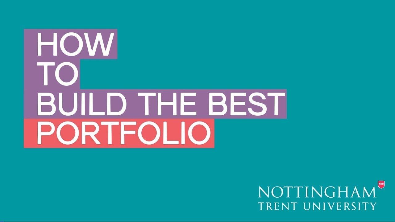 How to Build the Best Portfolio