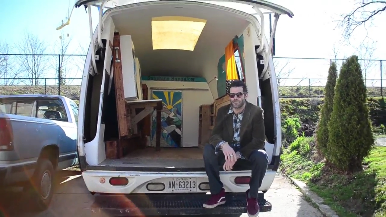 Van Life Tour Of A Unique Cargo Van Camper Conversion