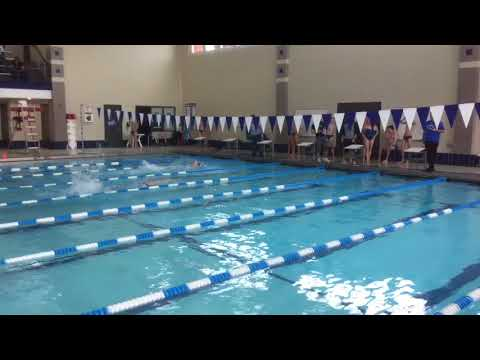 Elizabeth H - 50 Free - Illinois College Dual Meet