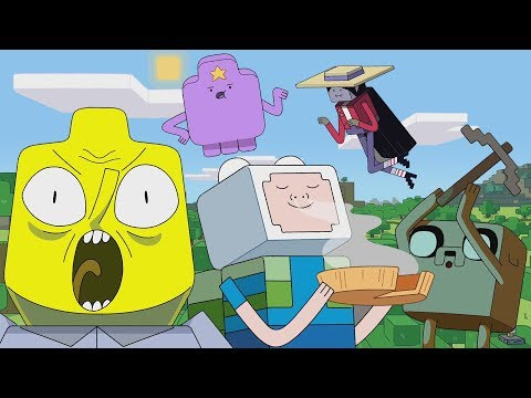 The Adventure Time Minecraft Episode Might Be Acceptable?