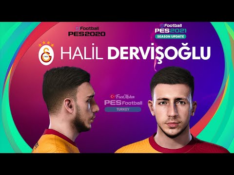 PES 2021 Halil DERVİŞOĞLU Face by PES Football TURKEY
