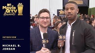 Michael B. Jordan Vying for 'Best Shirtless Performance' Nomination | 2018 MTV Movie & TV Awards