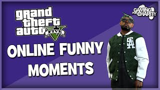 GTA V | Online Funny Moments, My Mum