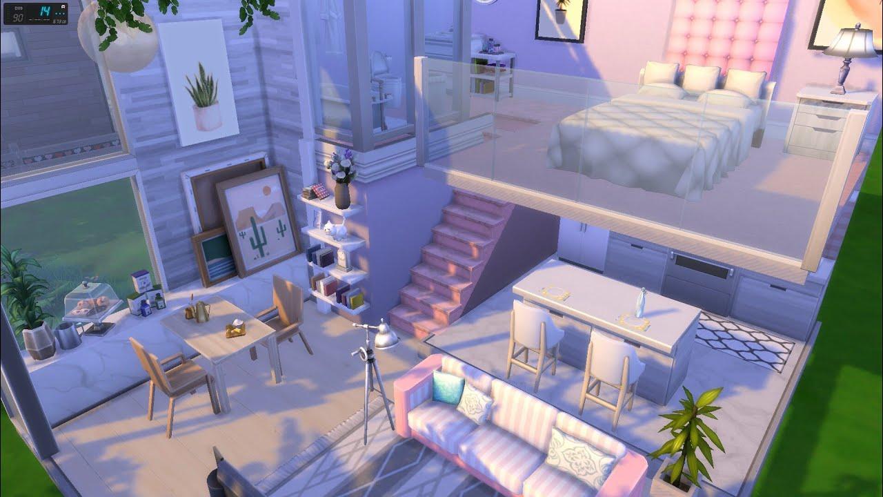 The Sims 4 [สร้างบ้านโมเดล #1 ]  l Speed Build l NO CC