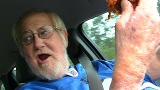 ANGRY GRANDPA - THE GARBAGE CHICKEN!
