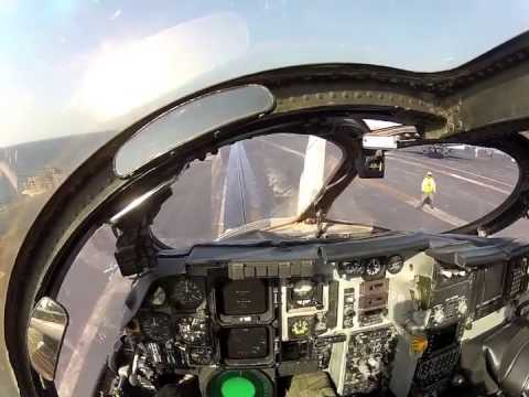 Watch This EA 6B Prowler Pilots View Of A Catapult Launch