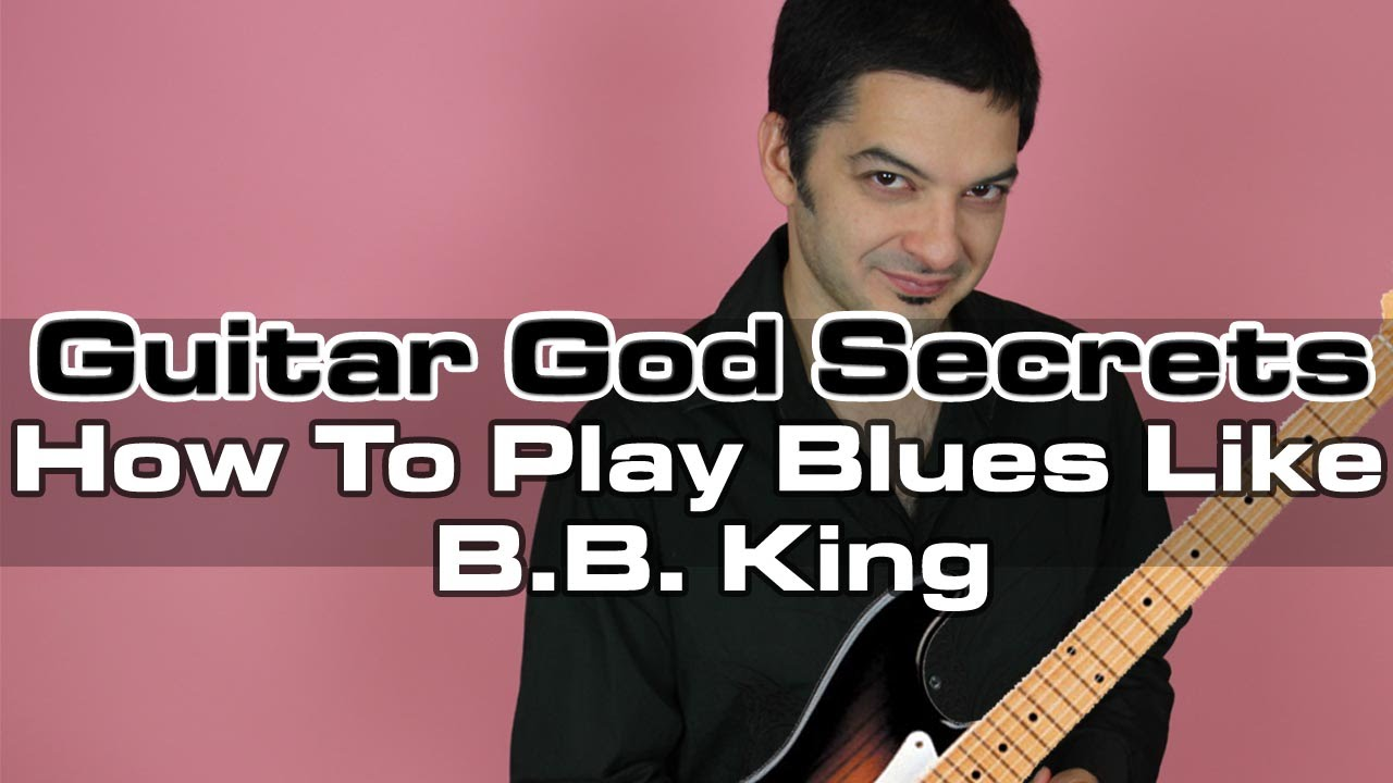 how to play blues like bb king easy guitar lesson youtube. Black Bedroom Furniture Sets. Home Design Ideas
