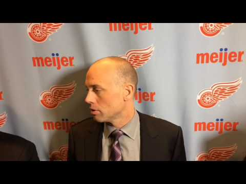 Jeff Blashill: Insurance goals 'biggest difference' for Red Wings this season