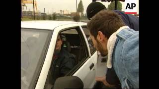 France - Truckers' strike causes chaos