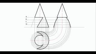 видео Проекции конусов