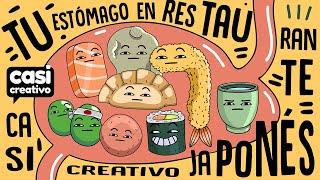 Tu estómago en restaurante japonés | Casi Creativo