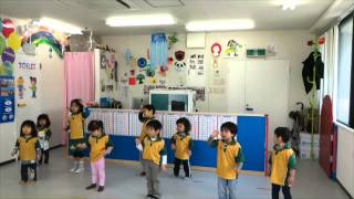 "川崎子供英語教室 Preschool ""5 little ducks went swimming one day"""