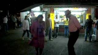 Zócalo de Cuernavaca, Grupo de Baile (Ángel