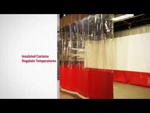 Industrial Curtains & Divider Curtain Walls