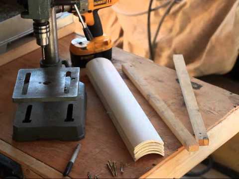 Part 1 DIY PVC Wind Turbine Blades Steel Banded Reinforced