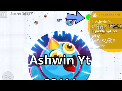 AGAR.IO MOBILE SOLO IN PARTY MODE ! (Agar.io Mobile Gameplay)