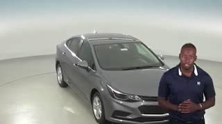 183025 - New, 2018, Chevrolet Cruze, LT, Sedan, Gray, Test Drive, Review, For Sale -
