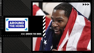 Reacting to USA basketball winning men's and women's golds at the Olympics