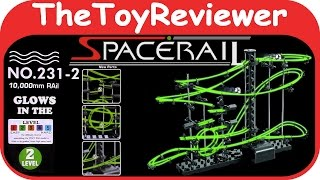 Spacerail Glow in the Dark Level 2 Unboxing Toy Review by TheToyReviewer
