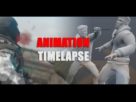 Blender Animation Timelapse : Takedown