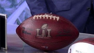 Tom Brady football part of Super Bowl memorabilia auction