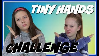 TINY HANDS CHALLENGE || Taylor and Vanessa