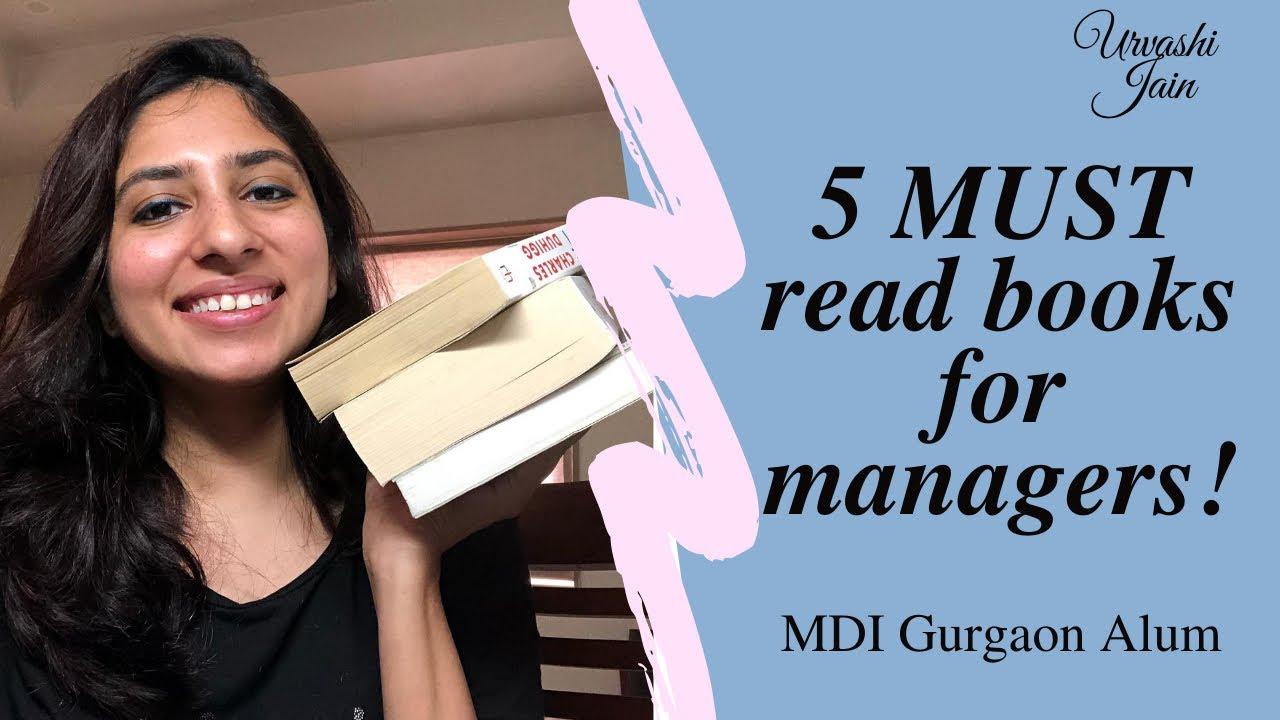 5 Books to make you a successful business manager | Understand human behavior! ~ MDI Gurgaon Alum