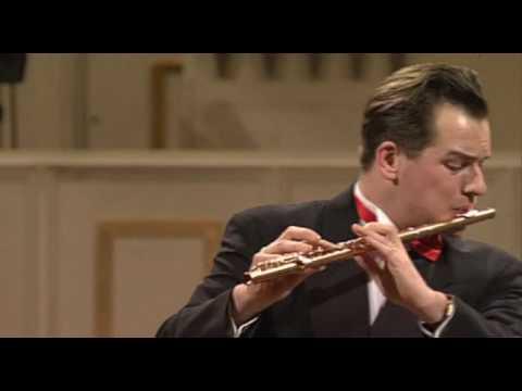 EMMANUEL PAHUD Mozart Flute Concerto in G - 3 mov.