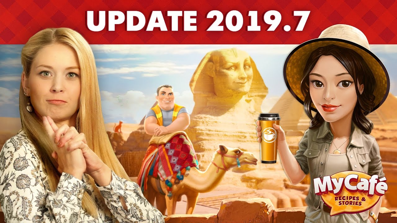 My Cafe: Update 2019 7 Announcement! Archaeology Event