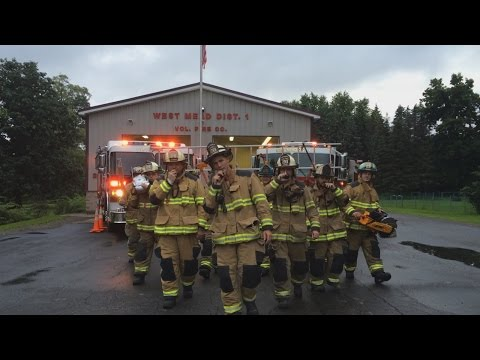 Fire dept. creates 'Dynamite' recruitment video