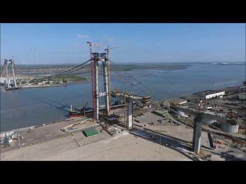 BEZ_DRONE -  Maputo-Catembe Bridge, Mozambique