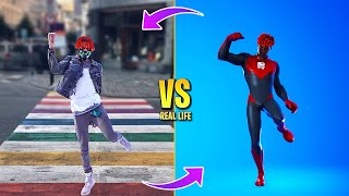 FORTNITE DANCES IN REAL LIFE (Rollie, Last Forever, Say So, The Renegade)