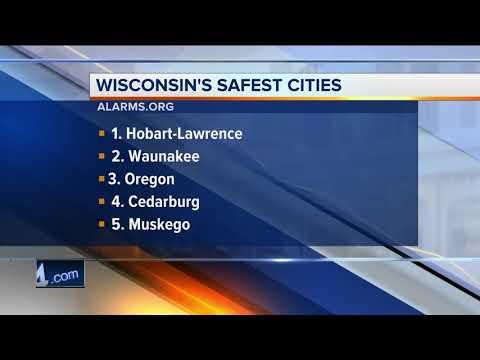 Local communities make the top ten safest cities in Wisconsin