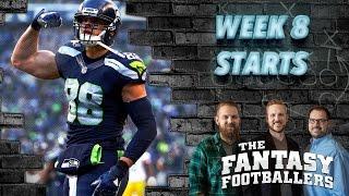 Fantasy Football 2016 - Starts of the Week, Week 8 Matchups, News - Ep. #295