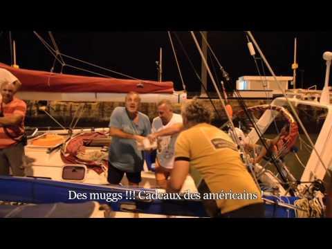 Le défi d'Yvan Bourgnon :Passage du canal de Panama