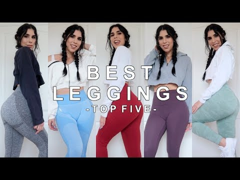 BEST WORKOUT LEGGINGS: MY TOP 5!