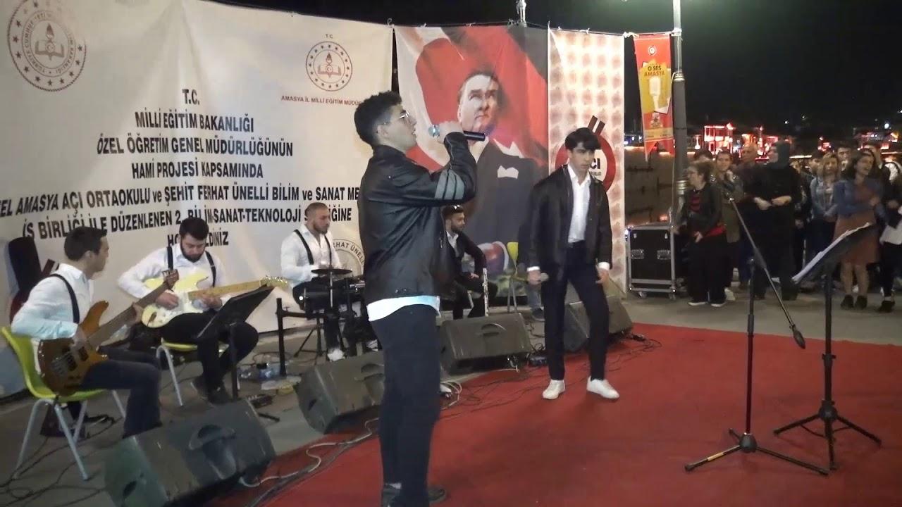 O Ses Amasya Ses yarışmasında 1.olan yarışmacılarımız Muharrem Kul ve Ahmet Enes Fırat'ın Performansları sizlerle. 😊🎶🎉🎤