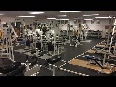 San Leandro High School - New Weight Lifting Platforms