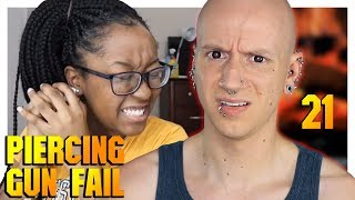 Reacting To Home Piercing Fails 2 | Piercing Gone Wrong 21 | Roly Reacts