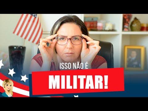 12 Indícios de Falso Militar Americano