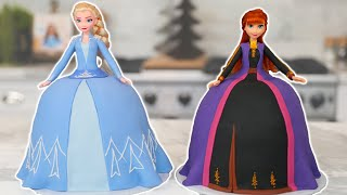 FROZEN 2 PRINCESS Cakes! - NERDY NUMMIES
