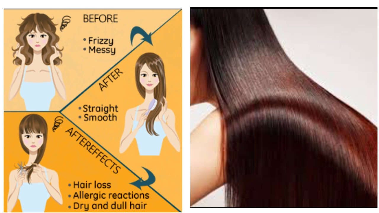 Hair Rebounding Hair Straightening Side Effects Nidhi Chaudhary