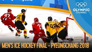 OAR Vs. GER - Full Mens  Ce Hockey Final PyeongChang 2018 Replays