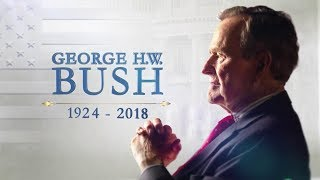 Washington arrival ceremony for George H.W. Bush