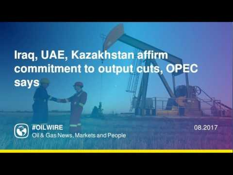 Iraq, UAE, Kazakhstan affirm commitment to output cuts, OPEC says